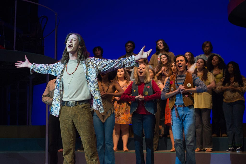 "Hair 14 - ""Hair"" Takes Audiences Back to the 60s"