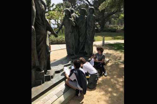 ScavHunt4 - Art History Partners with Hannon Library to Develop an LMU-themed Scavenger Hunt
