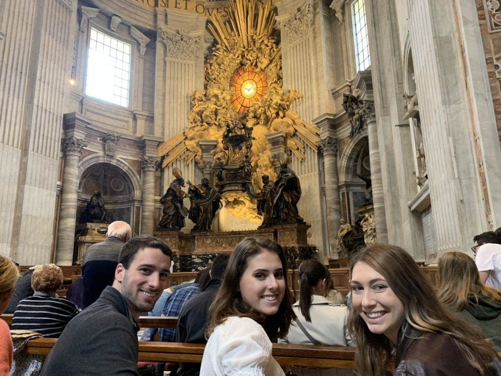 IMG 1061 1 - Students Engage with Christian Faith through Art in Rome Study Abroad