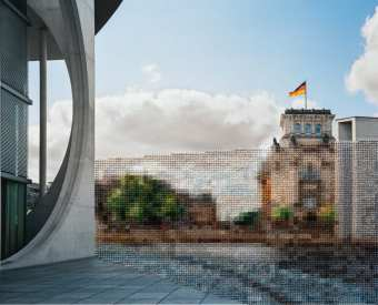 """32 Reichstag scaled - """"Berlin"""" Exhibition by Professor Diane Meyer Weighs History and Memory"""