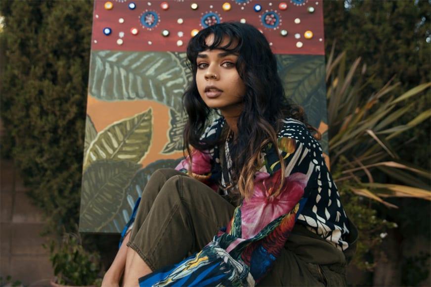 Photo of Simrah - Studio Arts Major Simrah Farrukh Spotlights South Asian Women's Issues
