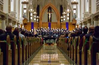 LMU Gala Christmas Concert 2019 5690 - Q&A with New Director of Choral Activities T.J. Harper