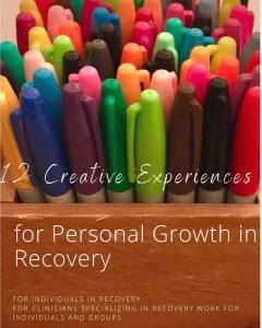 Pirkl book cover 12 creative experiences in personal growth in recovery - Pirkl book cover 12 creative experiences in personal growth in recovery