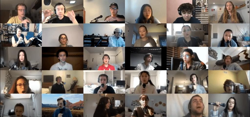 Consort Singers Jacktrip Audio - Consort Singers Find Zoom Harmony Through New Tech