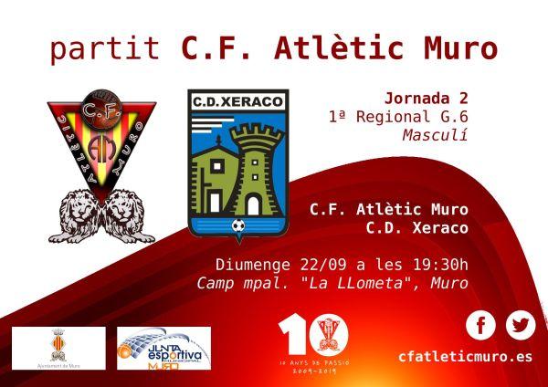 Read more about the article Primer partit de lliga per al masculí a casa davant el C.D. Xeraco
