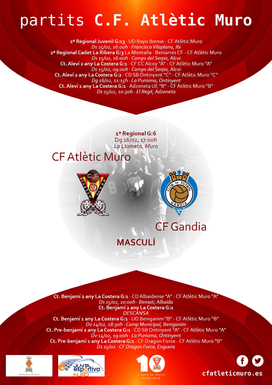 You are currently viewing Partit davant el CF Gandia