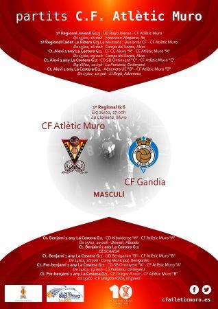 Read more about the article Partit davant el CF Gandia