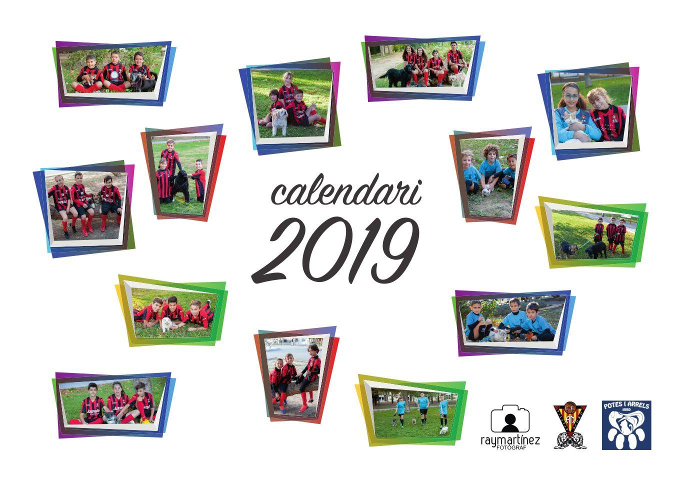 Read more about the article Calendari solidari 2019 amb Potes i Arrels
