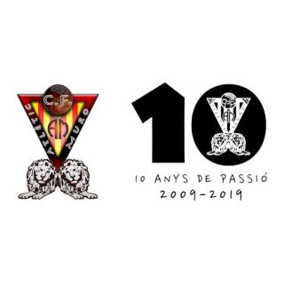 Logo Atlètic Muro C.F. + 10 aniversari