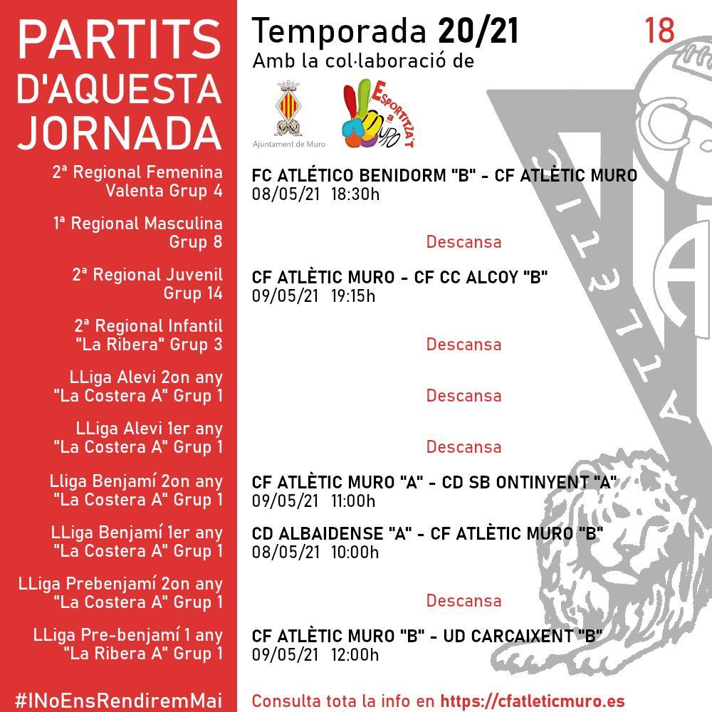 Lee más sobre el artículo Partido ante el FC Atlético Benidorm «B»
