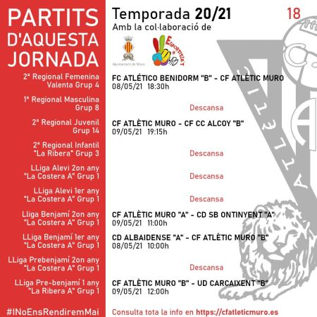 "Read more about the article Partit davant el FC Atlético Benidorm ""B"""