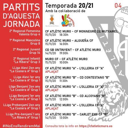 Read more about the article Partits davant el CF Monnegre de Mutxamel i l'Algueña CF