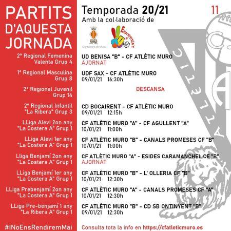 """Read more about the article Partits davant l'UD Benisa """"B"""" i l'UDF Sax"""