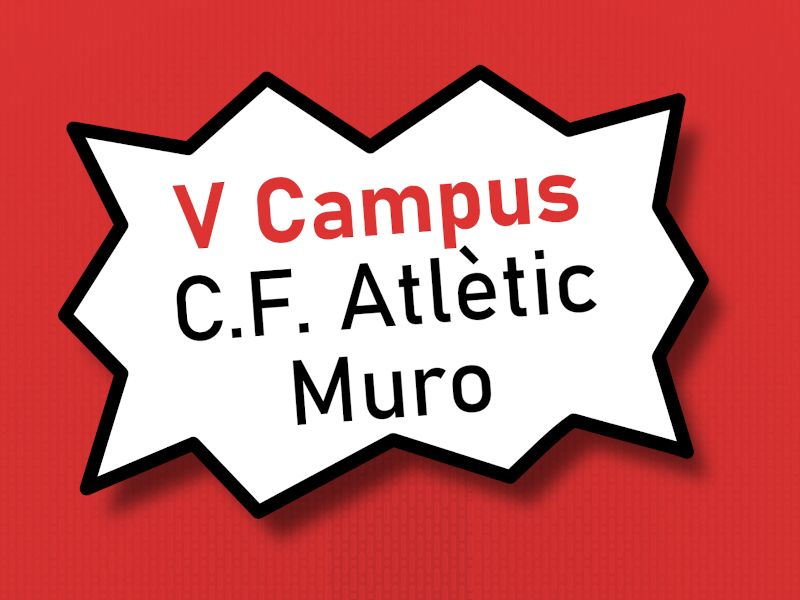 You are currently viewing V Campus C.F. Atlètic Muro