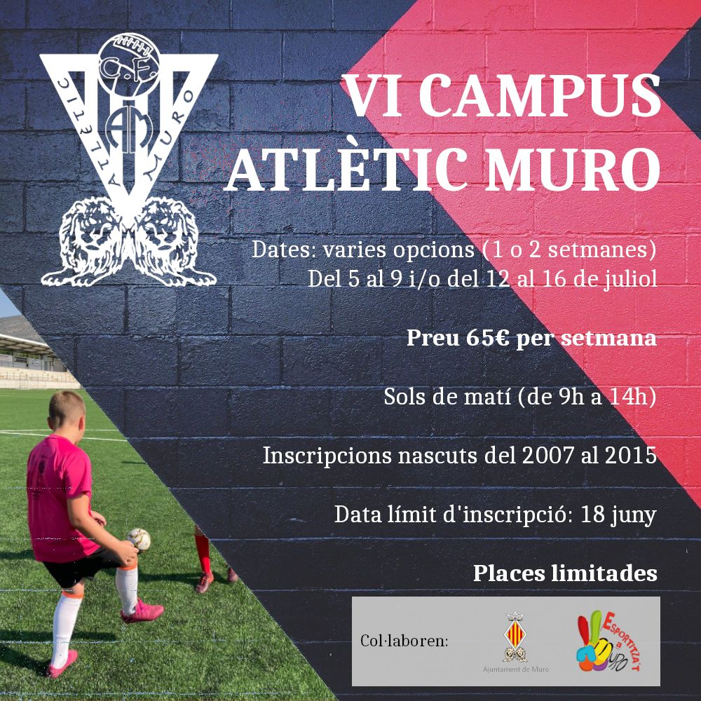 Lee más sobre el artículo VI Campus Atlètic Muro