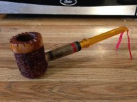 Modified Cob pipe :: Make Your Own Pipe Project :: Pipe ...