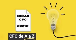 Dicas de estudo CFC 2021