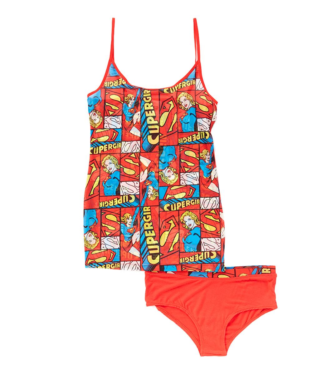 supergirl supergirl cami underwear