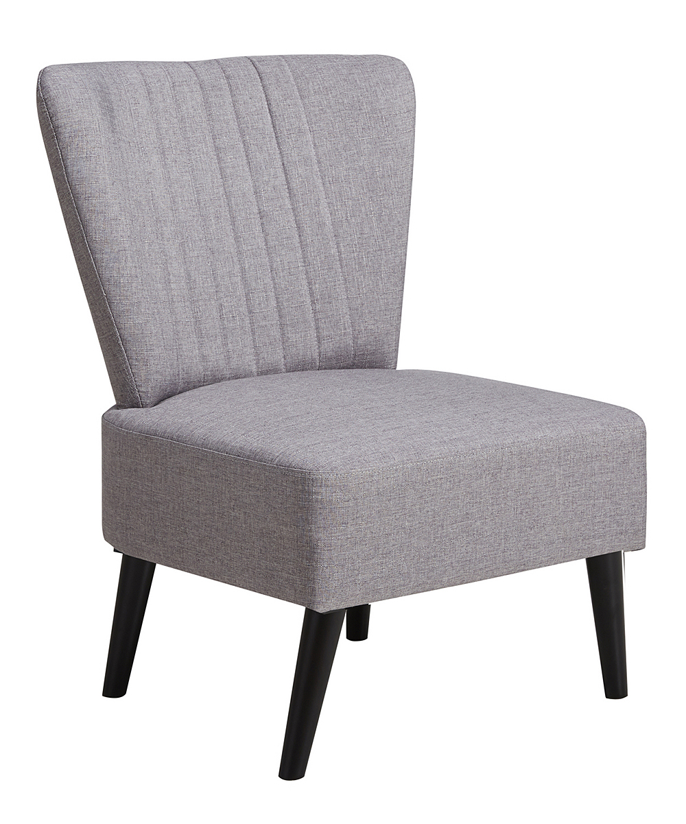 Purple Accent Chair Purple Channeled Accent Chair