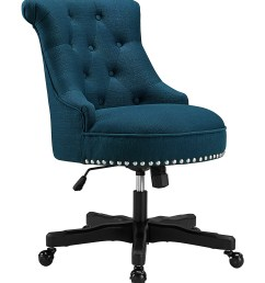 love this product blue tufted sinclair office chair [ 1000 x 1201 Pixel ]