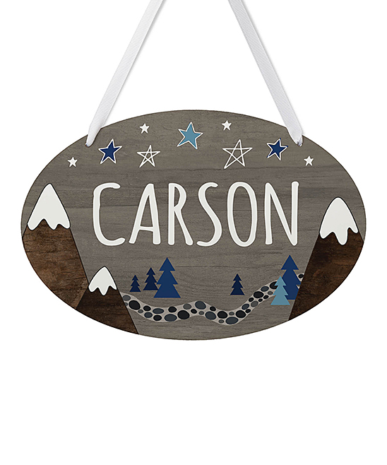 personalized planet gray brown