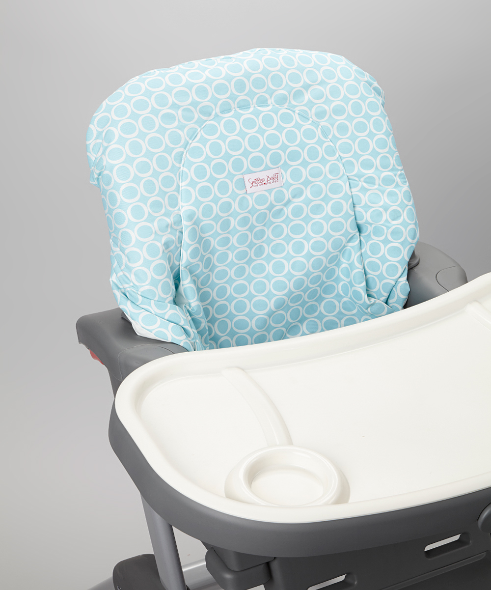 Egg Baby High Chair Smitten Baby Robin S Egg Blue Cover It High Chair Cover
