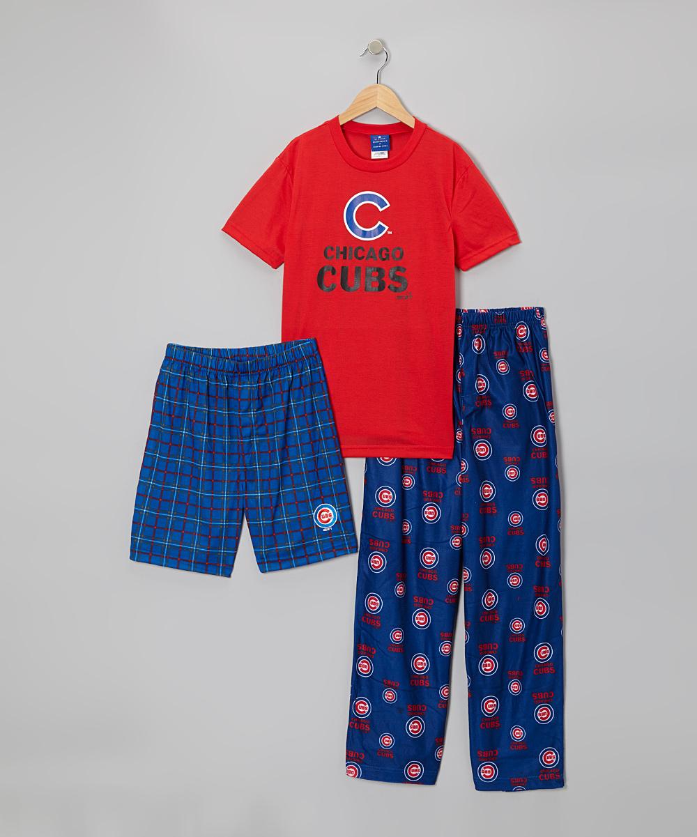 mlb chicago cubs pajama
