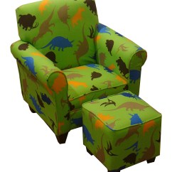 Kids Chair And Ottoman Careco Recliner Chairs Littlebluelamb Green Dinosaur Zulily Love This Product