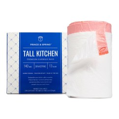 Kitchen Garbage Bags Degreaser For Wood Cabinets Prince Spring 140 Ct 13 Gal Tall Pack Zulily Share