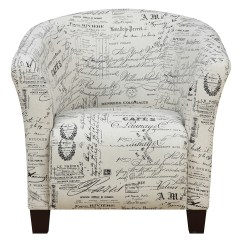 Radford Accent Tub Chair Wood Recliner Picket House Furniture French Script Zulily All Gone