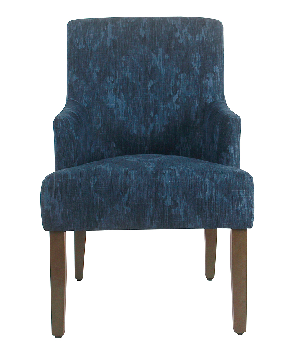 Damask Dining Chair Homepop Indigo Meredith Dining Chair