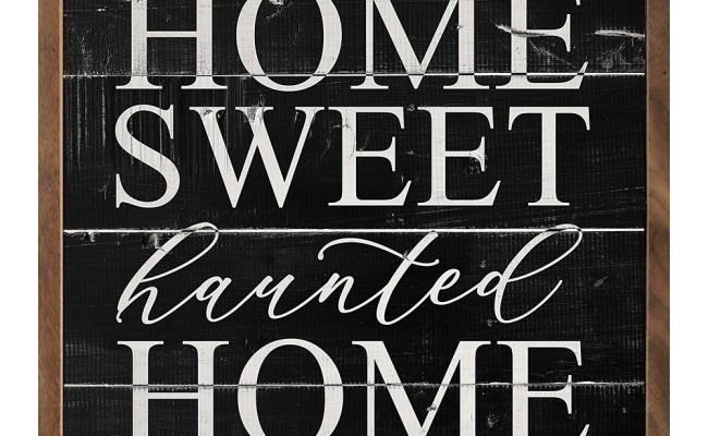 Kendrick Home Home Sweet Haunted Home Framed Wall Art Zulily