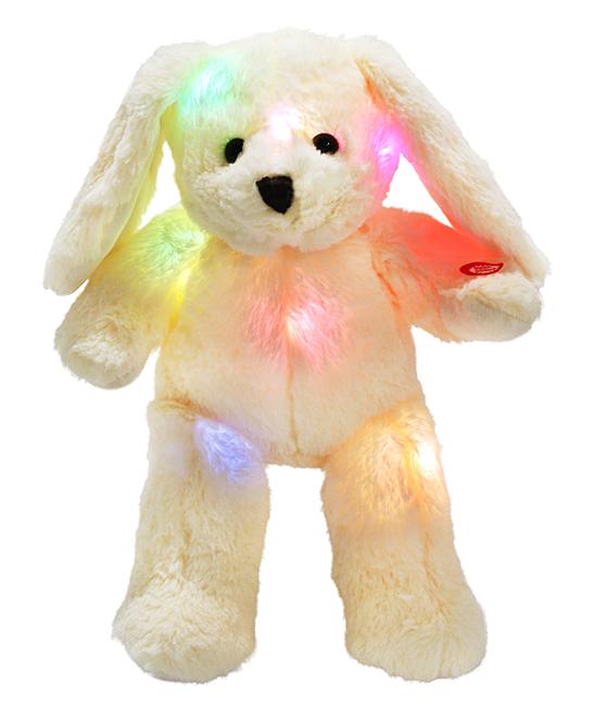 step led rabbit stuffed