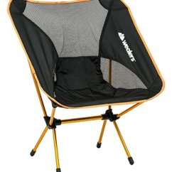 Camping Chair Accessories Office Chairs Home Depot Equipment Outdoor Orange Aluminum Compact