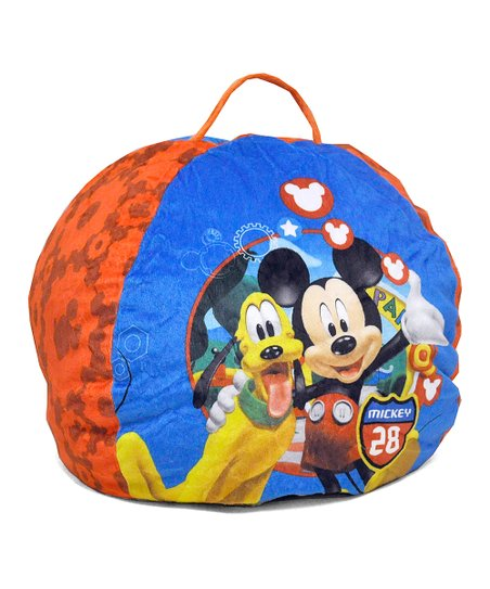 mickey mouse clubhouse bean bag chair swedish kneeling beanbag zulily love this product