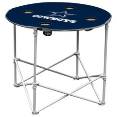 Dallas Cowboys Folding Chairs Space Fishing Tackle Chair Logo Inc Round Table Zulily