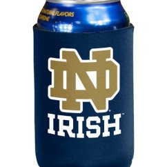 Notre Dame Chair Folding Mini Logo Inc Fighting Irish Can Sleeve Zulily