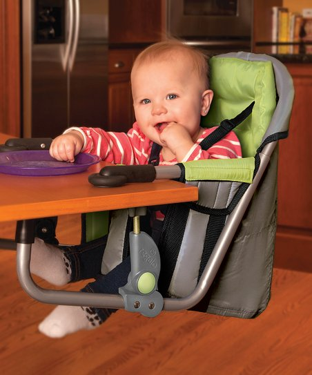 regalo portable high chair kneeling design plans green easy diner hook on zulily
