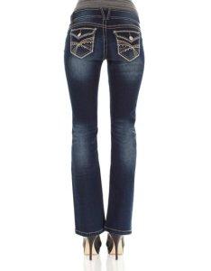 Campus indigo luscious curvy bootcut jeans also wallflower zulily rh