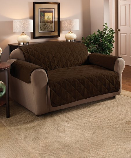 faux suede sofa cleaning instructions round white leather jeffrey home chocolate furniture protector zulily