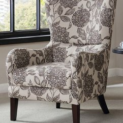 Black And White Accent Chairs With Arms Wishbone Chair Replica Main Green Floral Zulily