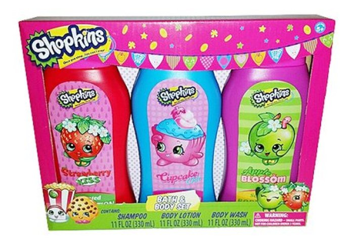 Shopkins Shopkins Cupcake Chic Strawberry Kiss Bath Body Set