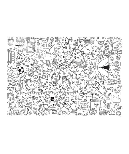 Giant Coloring Sheet : giant, coloring, sheet, Gibson, Giant, Coloring, Sheet, Three, Price, Reviews, Zulily