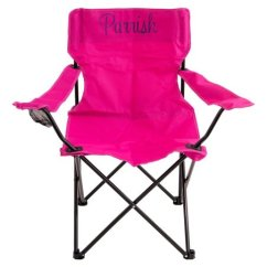 Personalized Folding Chair Design Master Chairs Three Ps In A Pod Hot Pink Adult Zulily