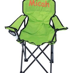 Personalized Folding Chair Linden Stand Three Ps In A Pod Lime Green Adult Zulily