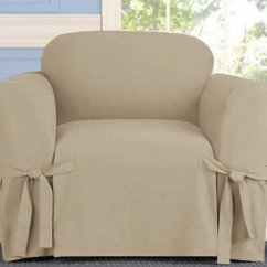 Chair Slip Covers In Store Antique Dining Chairs Linen Taupe Microsuede Cover Zulily