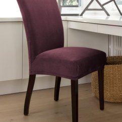 Stretch Dining Chair Covers Cover Express Hawaii Caber Surefit Boysenberry Jagger Slipcover Zulily
