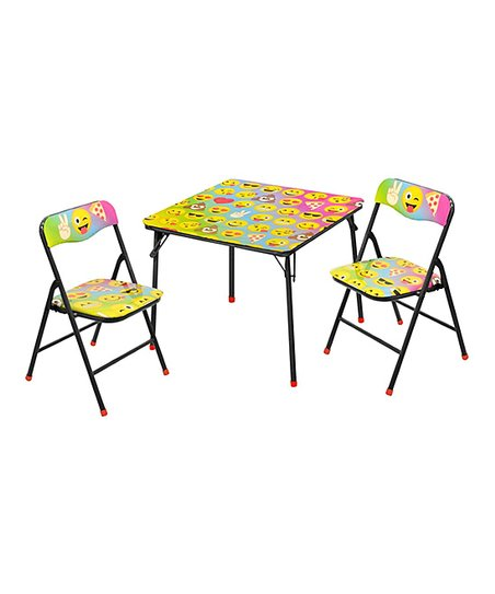 folding chair emoji with table attached singapore set zulily love this product