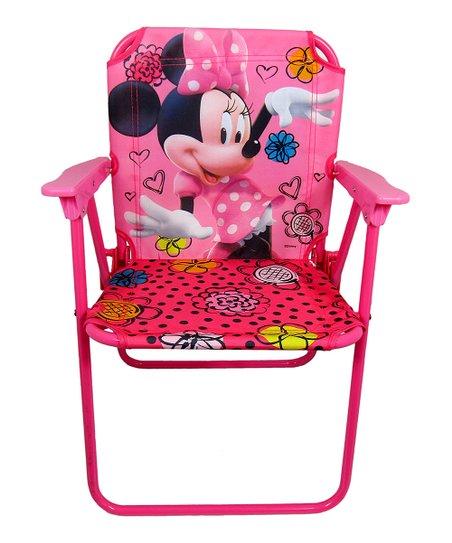 minnie mouse folding chair legs caps jakks pacific jet set canvas patio zulily love this product