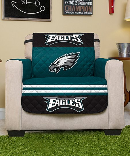 philadelphia eagles chair cheap kids table and chairs pegasus sports reversible protector zulily